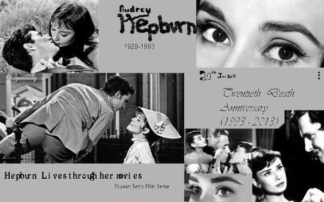 Audrey Hepburn's 20th Death Anniversary