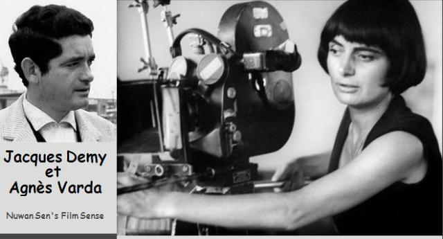 Jacques Demy et Agnès Varda