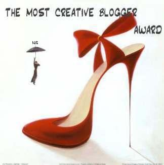 most creative blogger award