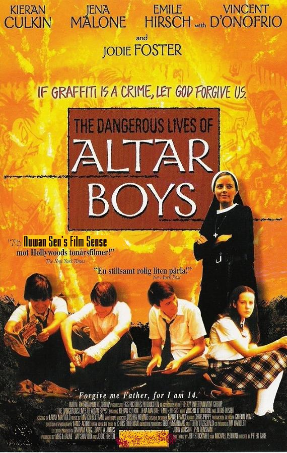 The Dangerous Llives of Altar Boys (poster)