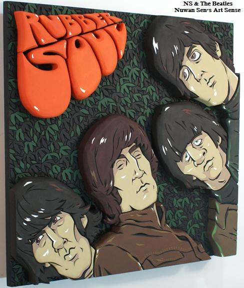 The Beatles rubber soul by Darin Shock