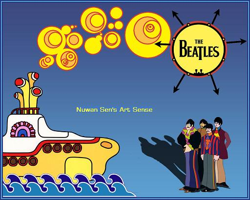The Yellow Submarine by Belius
