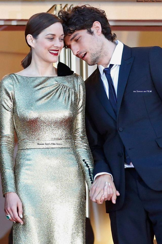 Marion Cotillard & Louis Garrel, at the 69th Cannes Film Festival, yesterday evening